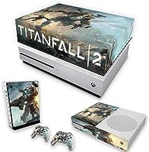 Capa Anti Poeira e Skin para Xbox One S Slim - Titanfall 2