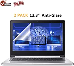 """2-Pack FORITO 13.3"""" Scratch Proof Laptop Screen Protector Anti Glare(Matte) Screen Cover Compatible with HP/DELL/Asus/Acer/Sony/Samsung/Lenovo/Toshiba, Display 16:9"""