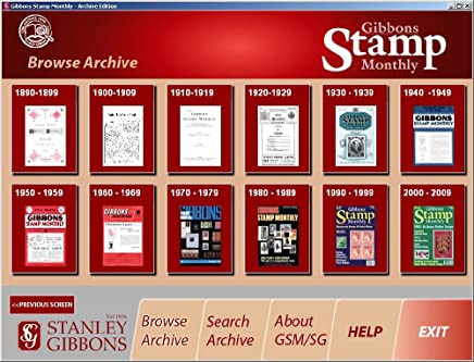 Stanley Gibbons Stamp Monthly - Archive Edition 1890-2009