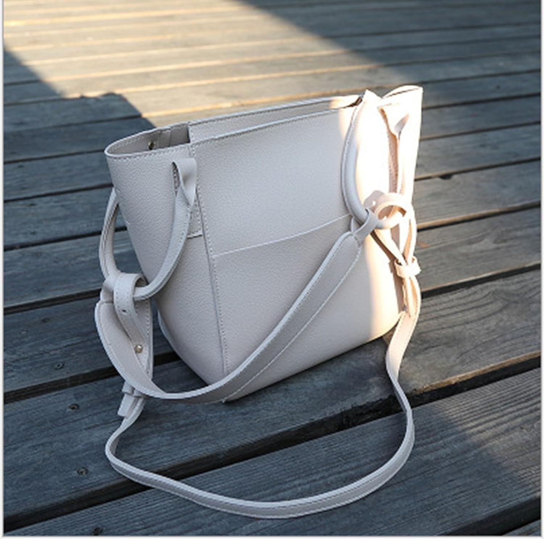 Rrock PVC Material Handtaschen Schulter Tasche Diagonale Tasche Einfache Einfache Einfache Handtasche,Weiß B07D6HDWHM  Rechtzeitige Aktualisierung 394b8b