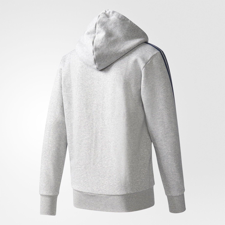 adidas Ess 3s Fz B T-Shirt Homme Gris (Brgrin / Maruni)