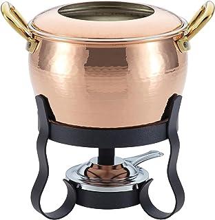 Ruffoni 99200 4-Piece Michelle Copper Fondue Set,