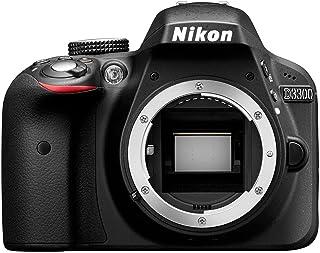 Nikon D3300 - Cámara réflex digital de 24.2 Mp (pantalla LCD de 3in grabación de vídeo Full HD) color negro - sólo cuerpo (Reacondicionado)