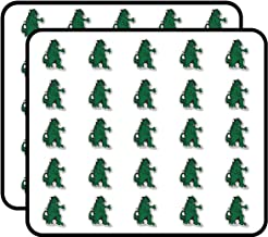 Godzilla Monster Sticker for Scrapbooking, Calendars, Arts, Kids DIY Crafts, Album, Bullet Journals 50 Pack