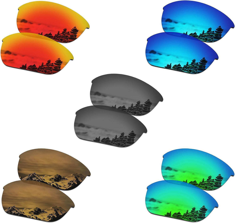 SmartVLT Set of 5 Men's Our shop most popular Replacement Lenses Jacke Popular product Half Oakley for