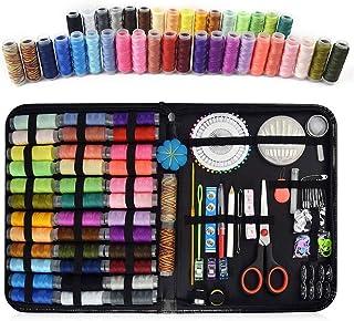comprar comparacion AMAYGA Kit de Costura,Costurero 183 pcs Accesorios Costura Kit de Accesorios,Premium Accesorios Portátil Costurero de Viaj...