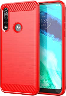 Wuzixi Case for Xiaomi Poco M2 Pro.Soft silicone sleeve design, shockproof and durable, Cover Case for Xiaomi Poco M2 Pro.Red