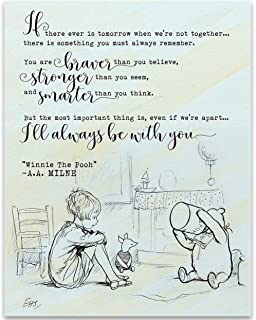 If There Ever Is Tomorrow When We're Not Together - 11x14 Unframed Art Print - Great Gift Under $15 for Nursery Decor