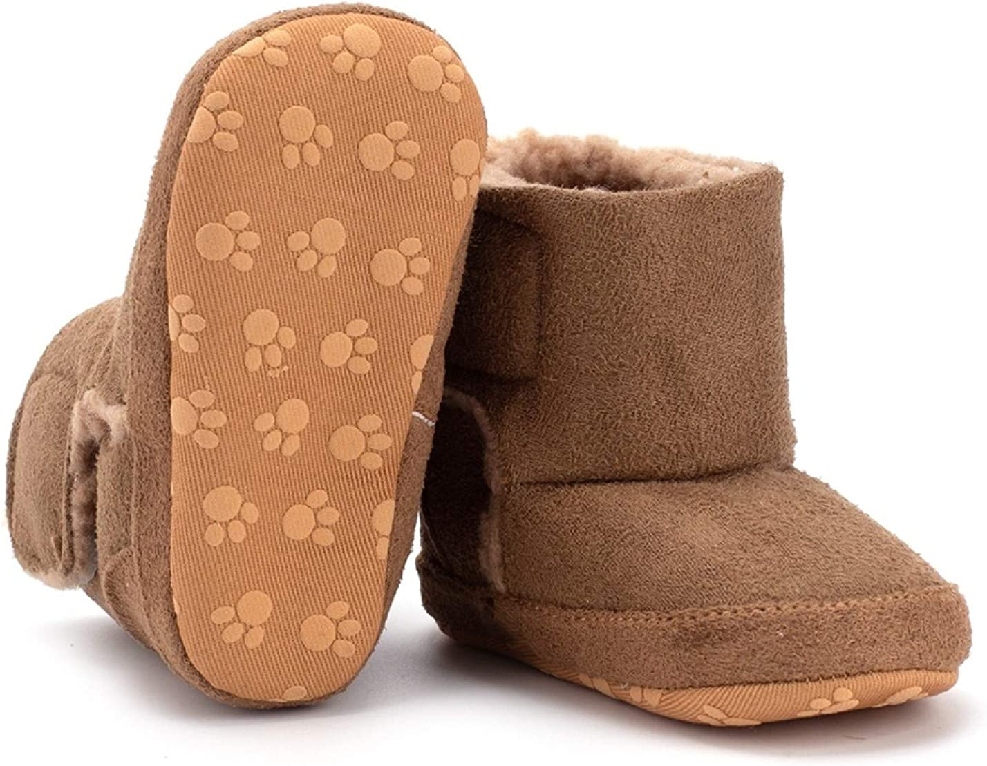 Bebila Warm Winter Baby Boots Many popular brands with Lined New color Fleece Toddler Fur Soft