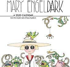 Mary EngelDark 2020 Wall Calendar