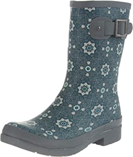Chooka Women's Mid-Height Printed Rain Boot