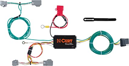 CURT 56285 Vehicle-Side Custom 4-Pin Trailer Wiring Harness for Select Volvo XC90