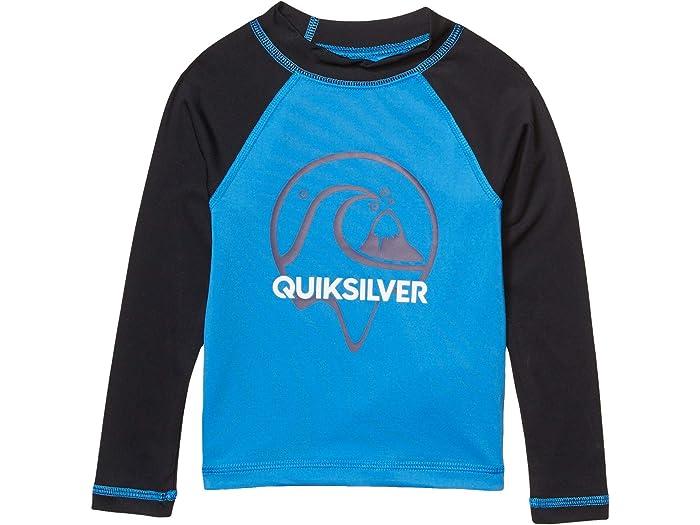 Sun Protection Quiksilver Mens Bubble Logo Short Sleeve Rashguard UPF 50