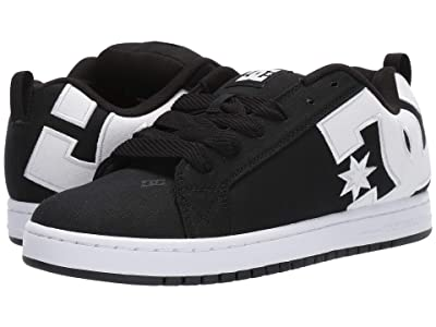 DC Court Graffik TX (Black/White) Men