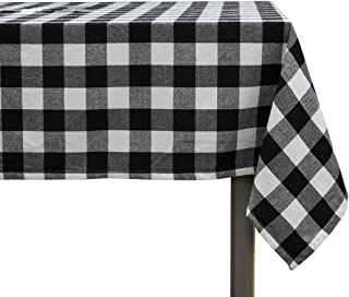 Best black plaid tablecloth Reviews