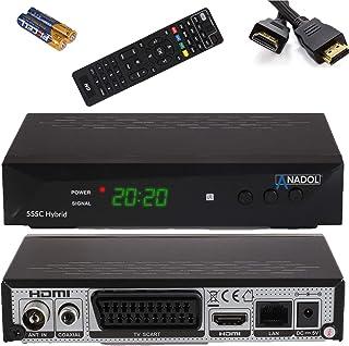 Anadol 55c - Hybrid DVB-T2 / DVB-C HDTV-kabelontvanger - PVR opnamefunctie en timeshift - Full HD mediaspeler HDMI + USB -...