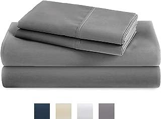 TRIDENT 400 Thread Count Sheet Set 100% Cotton Sateen...