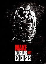 Geweldige Kunst Motiverende Poster Retro Training Poster Sportschool Geïnspireerd Fitness Wall Art Frameloze50X70Cm P435