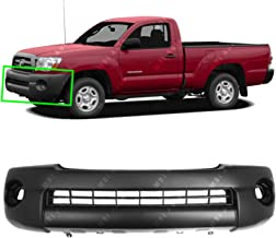 BUMPERS THAT DELIVER - Textured, Front Bumper Cover Fascia for 2005-2011 Toyota Tacoma Base Pickup 05-11, TO1000304
