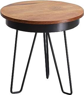 Legno Furinno B/&W U-Shape Tavolino Nero