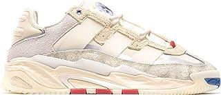 adidas Sneaker Uomo Niteball FX7643 Crema in Pelle Primavera Estate 2021
