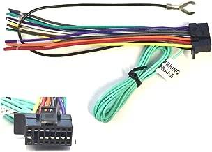 ASC Car Stereo Power Speaker Wire Harness Plug for Sony / Xplod / ES 16 Pin Aftermarket DVD Nav Radio XAV-68BT XAV-65BT XAV68BT XAV65BT + More