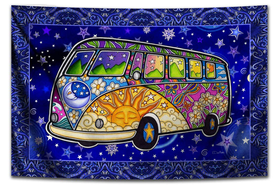 Tapestry Hippie Road Classic Trip Morris Don't miss the campaign by 26
