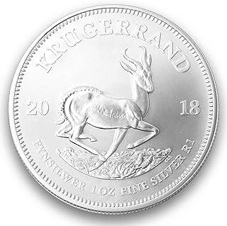 1 onza oz Plata Krüger borde 2018 individualmente en cápsulas para monedas de regalo