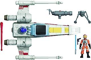 Hasbro E9597 Wars Mission Fleet Stellar Class Luke Skywalker X-Wing Fighter 6 cm große..