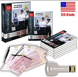 50-STATES Security Guard TRAINER KIT (Lesson Plan & Examinations)