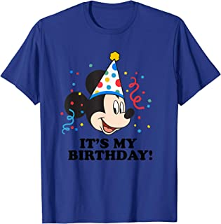 Mickey Mouse It's My Birthday! T-Shirt