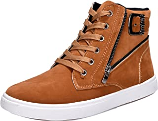 FREE Shipping on eligible orders. Gaorui Lot Fashion Men Casual Shoe High  Top Sport Outdoor Athletic Running Sneaker Boot abf36ae15423