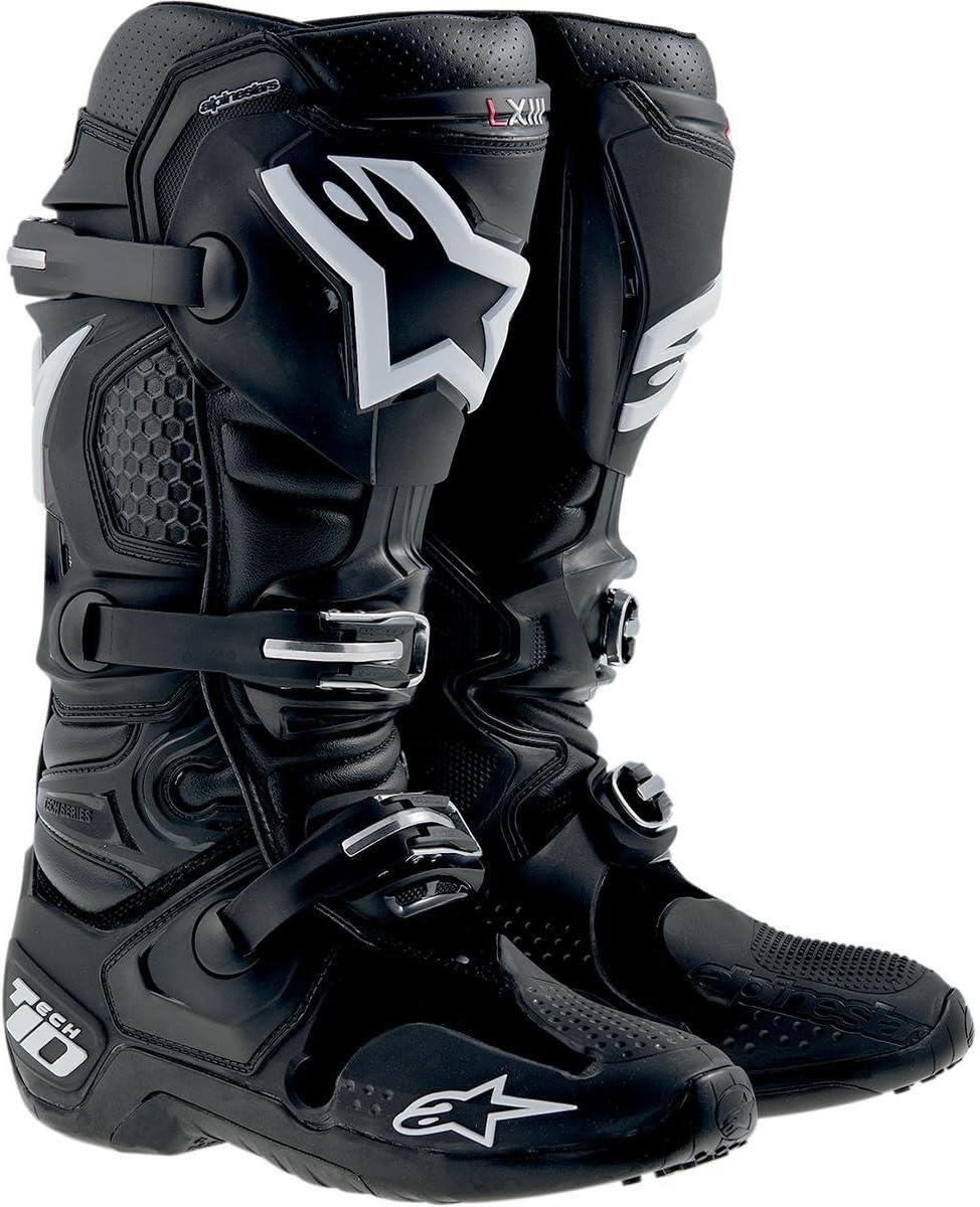 Black 7 Alpinestars 2018 Tech-10 Boots