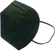 Mascara Preta S Válvula Respiratório Kn95 N95 Kit 25 unids Anvisa