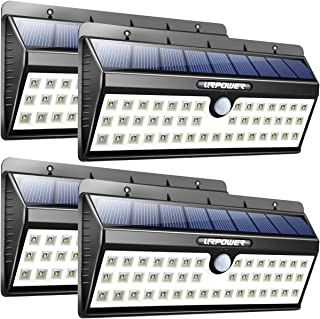 URPOWER Solar Lights, 44 LED Waterproof Motion Sensor Lights Outdoor Wireless Solar Powered Wall Light Motion Activated Au...