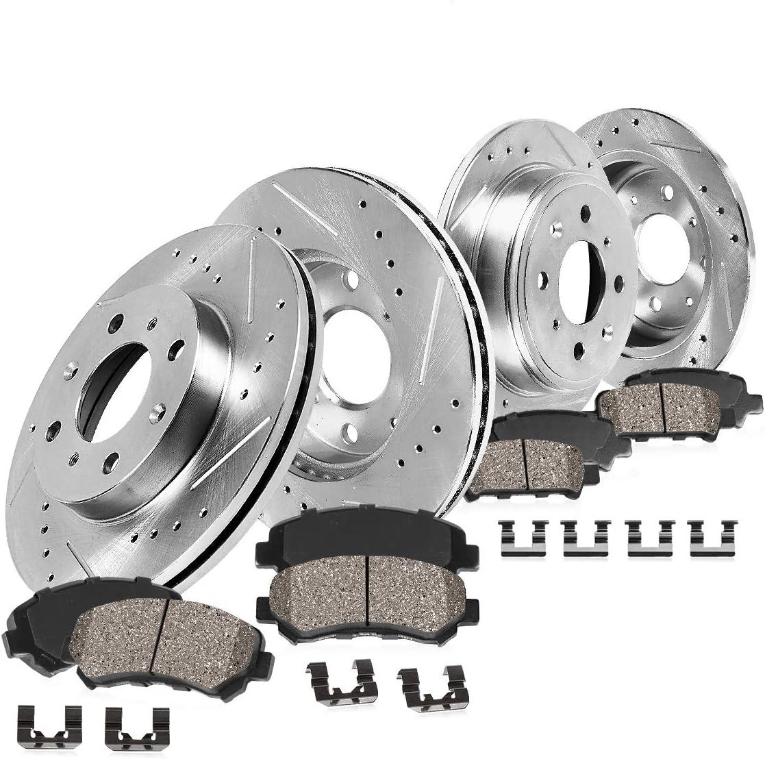 Callahan CDS03695 FRONT 262mm + 新作通販 REAR 239mm S Lug Rotors SALE開催中 4 D