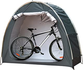 DINVES Foldable Bicycle Cover Storage Tent, Portable Outdoor Tent, Upgraded 210D Silver Coated Oxford Cloth,Outdoor Garden...