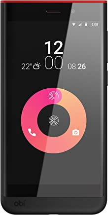 Obi Worldphone SJ1.5 Dual Sim - 16GB, 3G, Wifi, Red/Black