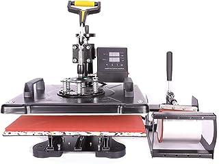 Sfeomi Prensa de Calor 30 x 38cm Máquina de Prensa de Calor