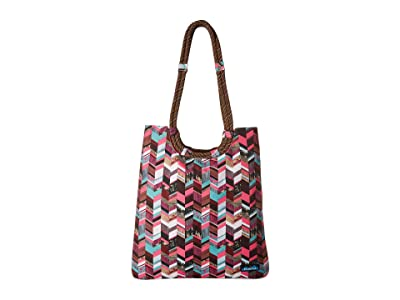 KAVU Market Bag (Sunset Blocks) Bags