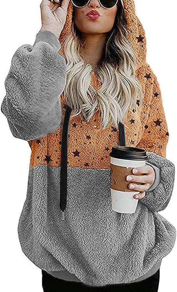 Hotkey Womens Max Ultra-Cheap Deals 49% OFF Hoodies Zipper Pockets Long Sleeve Five Sweatshirt