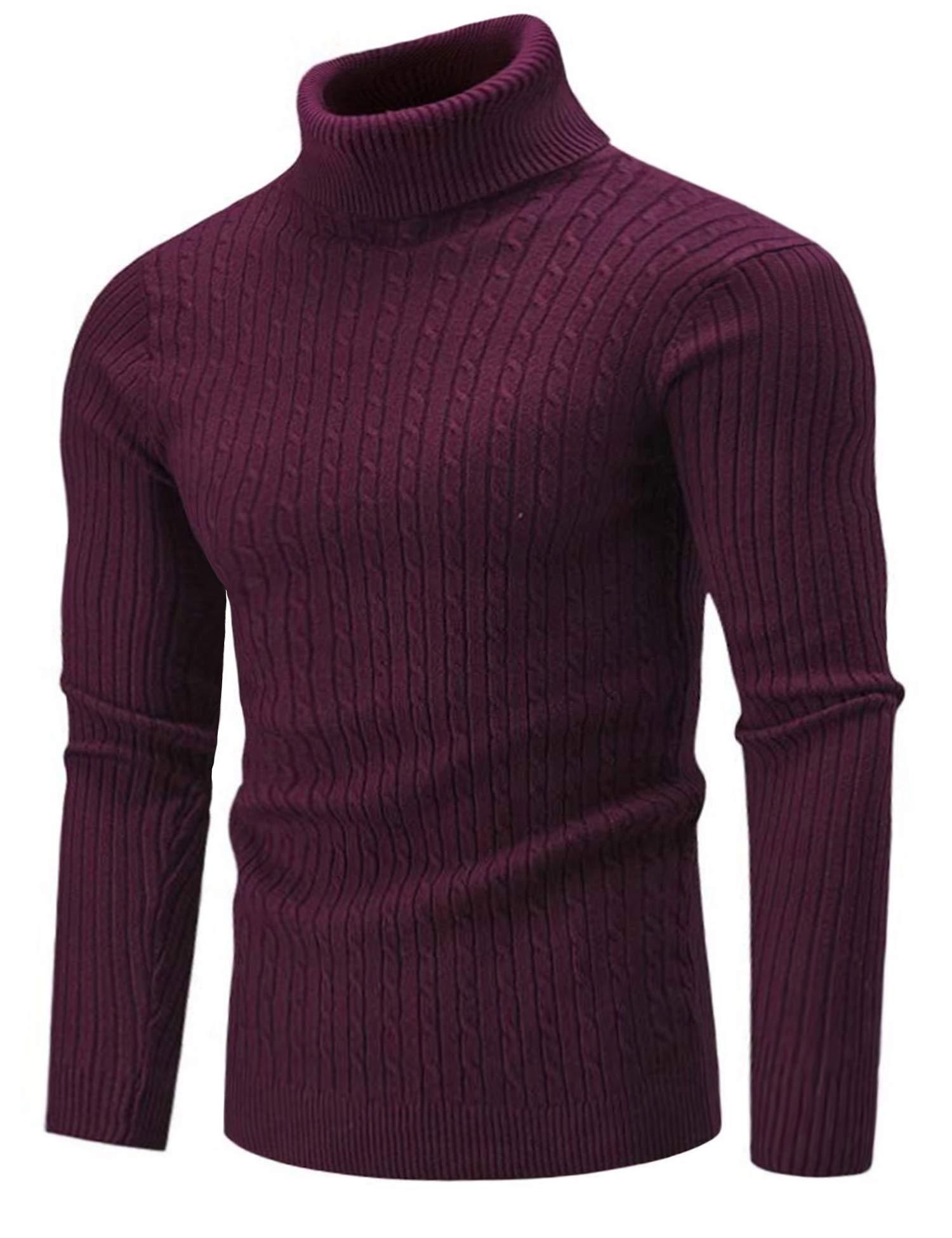 Goodthreads Mens Supersoft Marled Turtleneck Sweater