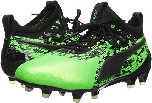 Green Gecko/Puma Black/Charcoal Gray