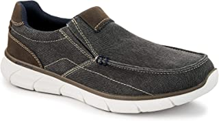 Men's Havana - Casual Comfort Canvas Slip On Shoe