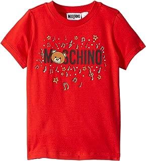 Unisex Short Sleeve T-Shirt w/Music Toy Bear (Little Kids/Big Kids)