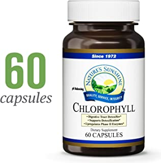 Nature's Sunshine Chlorophyll, 60 Softgel Capsules | Helps Support The Body's Blood-Cleansing Functions and Strengthens The Immune and Intestinal Systems