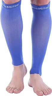 Doc Miller Open Toe Compression Socks 30-40 mmHg 1 Pair Medical Grade Stockings