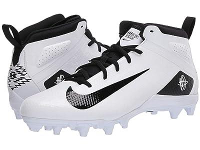Nike Alpha Huarache 7 Varsity Lax (White/Black/White) Men