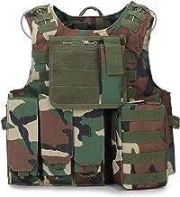 Airsoft Militaire Tactische Vest Molle Combat Assault Plaat Carrier Tactische Vest CS Outdoor Kleding Jacht Vest Vest