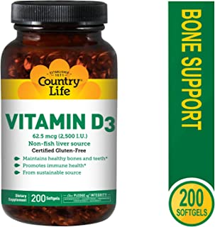 Best country life vitamin d3 Reviews